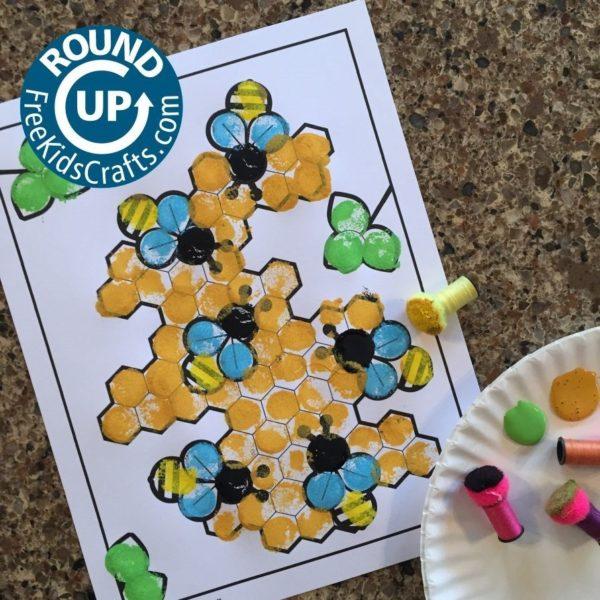 Honeybee Crafts RoundUp