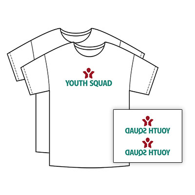 Youth Squad Free Tee Shirt Transfer