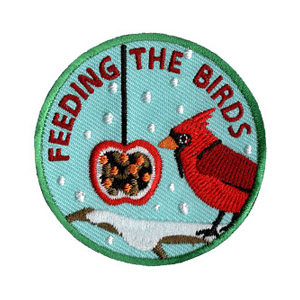 Feeding the Birds Service Patch Program® from Youth Squad®