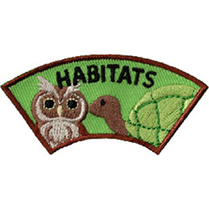 Animal Habitat Advocate Service Patch Program® from Youth Squad®