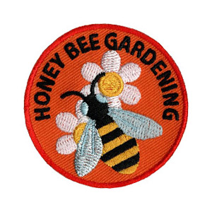 Youth Squad Honey Bee Gardening Patch