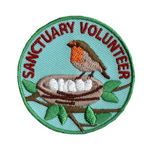 Youth Squad® Bird Sanctuary Volunteer Patch
