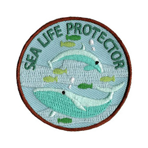 Youth Squad Sea Life Protector Patch