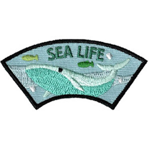 Sea Life Advocate Service Patch