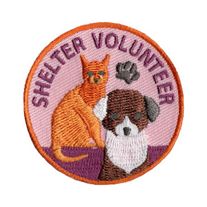 Pet Shelter Volunteer Patch