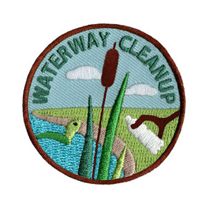 Youth Squad® Water Way Cleanup Patch