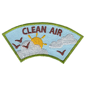 Clean Air Advocate Service Patch