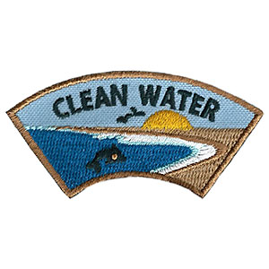 Clean Water Advocate Service Patch Program® from Youth Squad