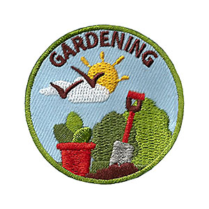Youth Squad Gardening Service Patch Program®