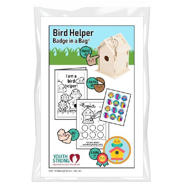 Bird Helper Badge in a Bag