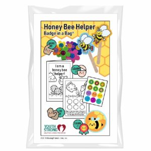 Honey Bee Helper Badge in a Bag