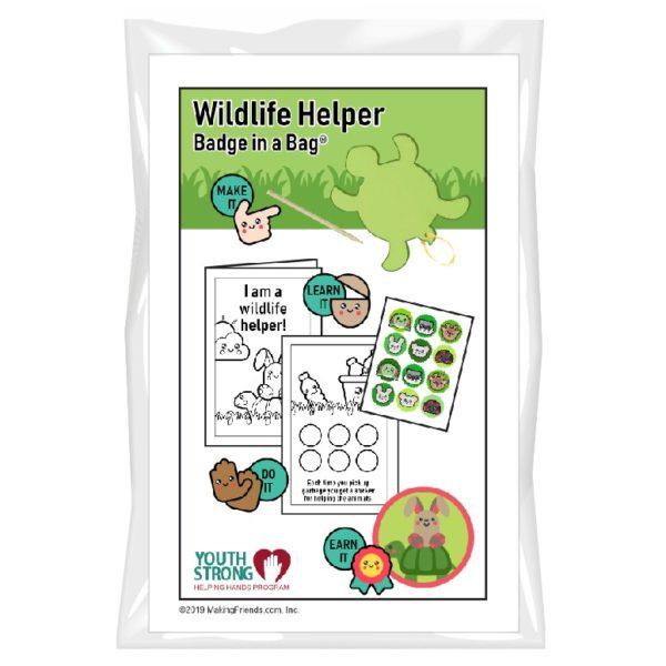 Wildlife Helper Badge in a Bag
