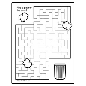 Clean Earth Litter Maze