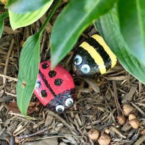Make garden rocks.