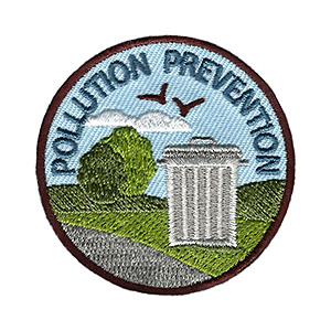 Pollution Prevention Service Patch Program® from Youth Squad®