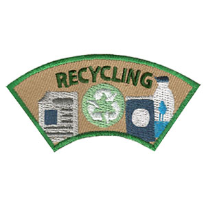 Youth Squad® Recycling Advocate Service Patch