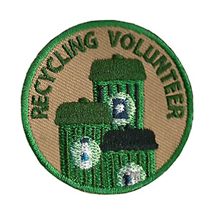 Youth Squad® Recycling Volunteer Patch