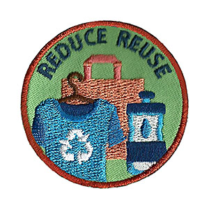 Reduce Reuse Service Patch Program® from Youth Squad