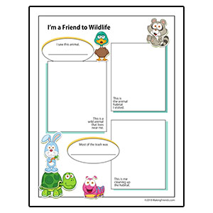 Wildlife Habitat Worksheet