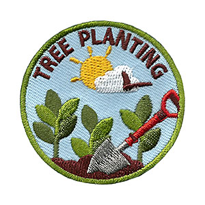 Youth Squad Tree Planting Service Patch Program®
