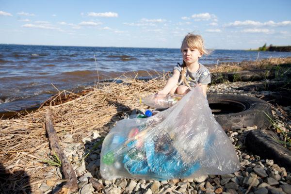 Preschool Beach Clean Up
