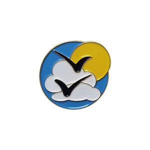 Clean Air Delegate Pin
