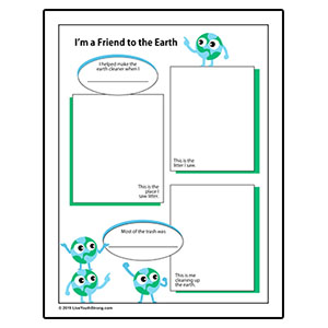 Clean Earth Friend Worksheet