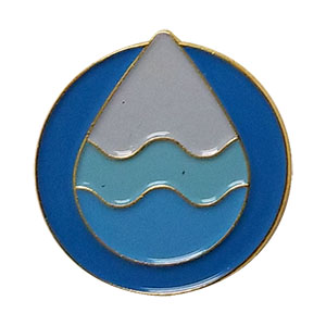 Clean Water Delegate Pin