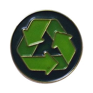 Recycling Delegate Pin