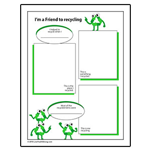 Youth Squad Review Worksheet Friend to Recycling