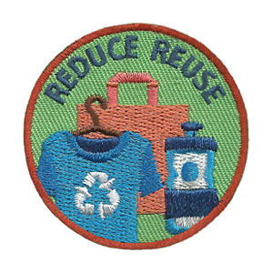 Youth Squad Reduce Reuse Patch