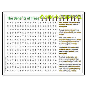 Tree Planting Word Search