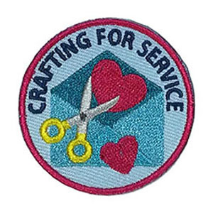 Crafting for Service Service Patch Program® from Youth Squad®