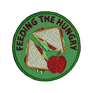 Feeding the Hungry Service Patch Program® from Youth Squad