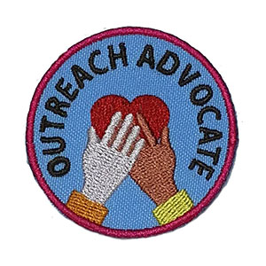 Outreach Advocate Service Patch Program® from Youth Squad
