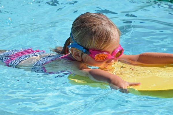 Consider swimming lessons for your wellness delegate project