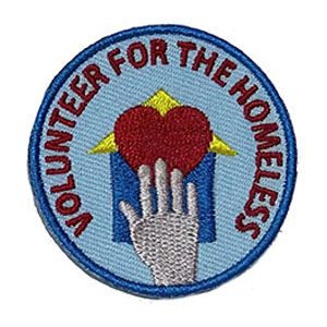 Volunteer for the Homeless Service Patch Program® from Youth Squad®