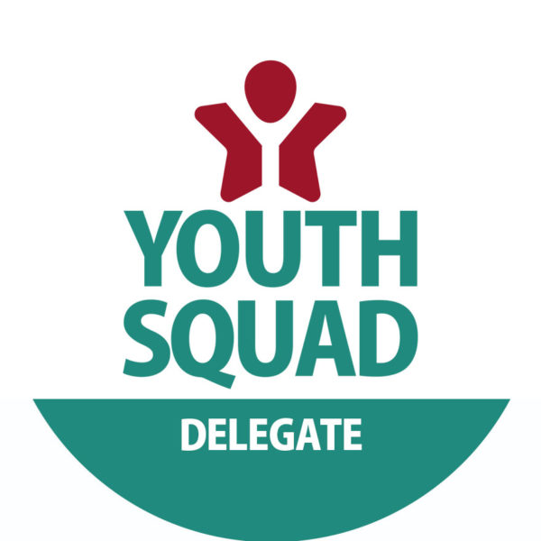 Youth Squad® Delegate ID Button