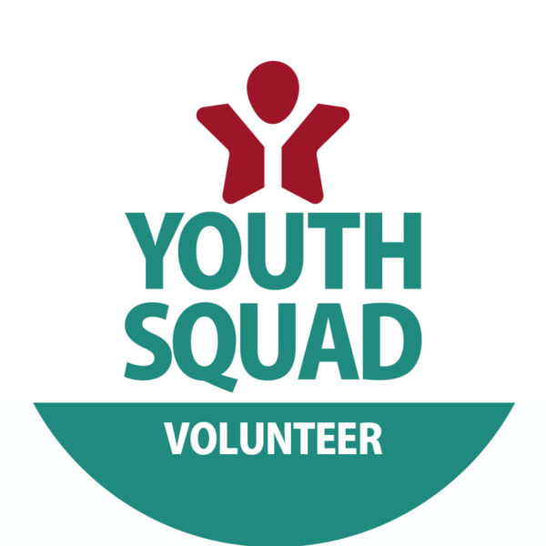 Youth Squad® Volunteer ID Button