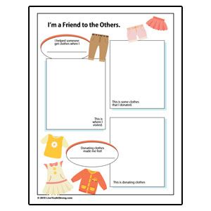Clothing Drive Review Worksheet