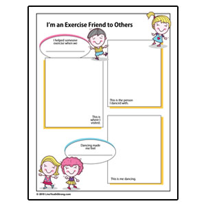 Dance Partner Exercise Review Worksheet