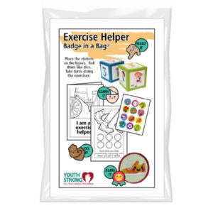 Exercise Helper Badge In A Bag®
