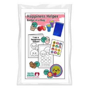 Happiness Helper Badge In A Bag®