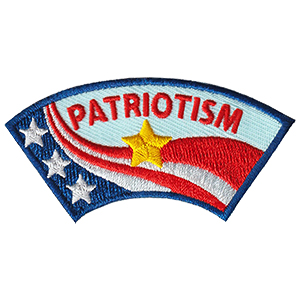 Patriotism Advocate Service Patch Program® from Youth Squad®