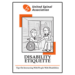 United Spinal Association Disability Etiquette Booklet