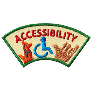 Advocate for Accessibility Service Patch Program® from Youth Squad®