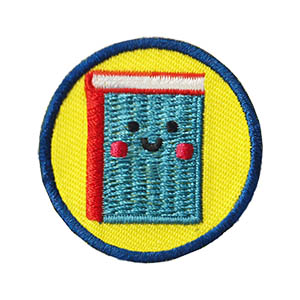 enrichment Patch Program® Youth Squad® Book Helper Patch