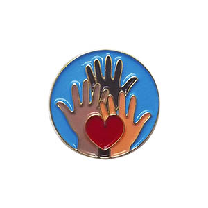 Citizen Delegate Pin for Community Service from Youth Squad®