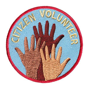 Youth Squad® Citizen Volunteer Patch
