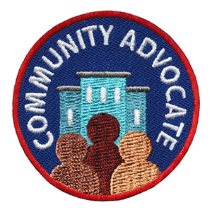 Youth Squad® Community Advocate Patch